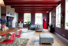 Country Wooden House Interior #country #wooden house #interior #missdesign #decor #interioridea #diningroom