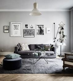 110+ Fabulous Dark Grey Living Room Ideas To Inspire You - Page 44 of 112