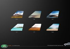 Land Rover: Landscapes Visit landscapes that doesn't need an apps.