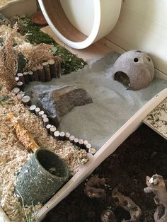 Created a new sandpit for Sandy.