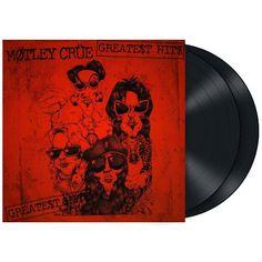"""Greatest hits"" dei #MötleyCrüe su doppio vinile nero."