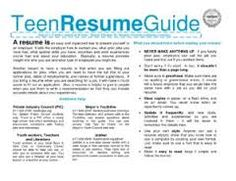 image result for teenage resume when you have your content check out resumefoundry on etsy - Teen Resume Examples