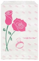 Paper Gift Bag Rose    Price: $3.50/pack of 100