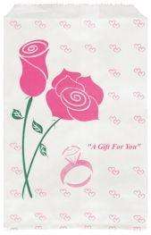 Paper Gift Bag Rose    Price: $3.50/pack of 100