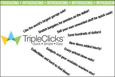 THE COMMUNITY!! Hi Dear Friends!! TripleClicks is an E Commerce site the E Commerce Site of Strong Future International Marketing Group (SFI MG) SHOPPING Hosting over 80000 products/services to buy…