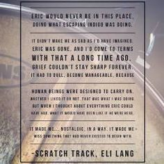 Scratch Track by Eli Lang -- book teaser