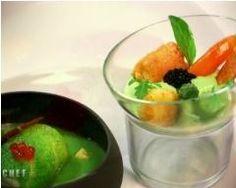 Lotte sur une garbure à l'huile d'olive Papillon - Une recette CuisineAZ