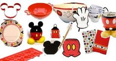 mickey mouse kitchen - I love all of these