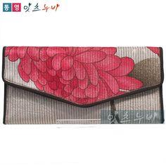 Korea Traditional Quilting Womens Wallets Purses Tongyeong Nuby Handmade 0468