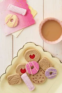 Free Biscuit Crochet Patterns from Mollie Makes - featured in 10 Creative Crochet Patterns To Make This Spring!