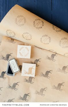 Print Your Own Christmas Gift Wrapping Paper