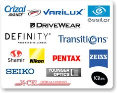 Brands of Progressive Lenses | eyeglass lenses from Varilux, Crizal, Definity, Transitions, Essilor ...