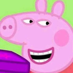 """peppa pig When Kim Taehyung a CEO suddenly wanted to Marry a broke Jeon Jungkook """"Him he's my fiance"""" Previously known as Force. Really Funny Memes, Stupid Funny Memes, Funny Relatable Memes, Haha Funny, Funny Cartoon Memes, Peppa Pig Funny, Peppa Pig Memes, Peppa Pig Cartoon, Cartoon Profile Pictures"""