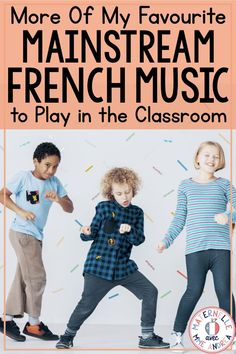 MORE of my favourite mainstream French music to play in the classroom MORE of my favourite mainstream French music to play in the classroom,ZiQ French Teaching Resources, Teaching French, French Lessons, Spanish Lessons, How To Speak French, Learn French, French Language Learning, Spanish Language, Learning Spanish