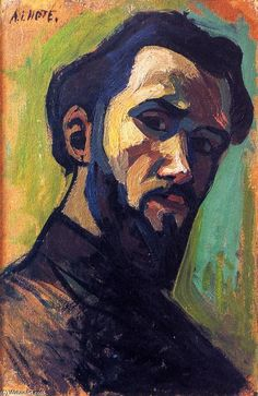 Self-Portrait André Lhote (1908)