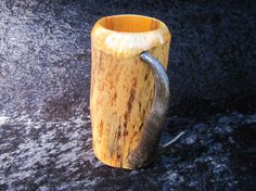 Antelope Horns, Wooden Beer Mug, Rustic Mugs, Handle, Unique Jewelry, Vintage, Etsy, Costume Jewelry, Vintage Comics