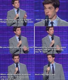 The Best John Mulaney Jokes Haha Funny, Funny Jokes, Funniest Memes, Funny Stuff, Funny Things, Top Funny, Nerdy Things, Funny Shit, Random Things
