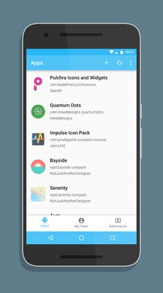 polar request manager beta android app - Android Ui Maker