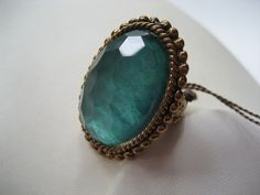 US $174.72  RARE NWT NEW OLD STOCK STEPHEN DWECK OVAL AQUA CRYSTAL BRONZE RING | Jewelry & Watches, Handcrafted, Artisan Jewelry, Rings | eBay!