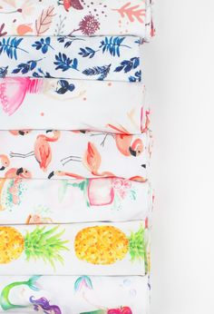 Super-soft whimsical swaddle blankets for newborn babies. Gorgeous designs…