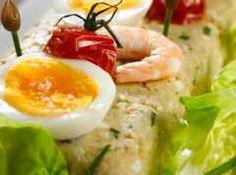 Pain de poisson Pizza, Shrimp, Breakfast, Ethnic Recipes, Food, Seasonal Recipe, Morning Coffee, Essen, Meals