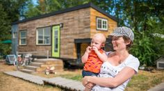 "Macy designed ""Mini Motives"" knowing that she might want to have children. Two years later, she and her partner welcomed two babies into their tiny house!"