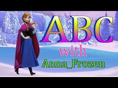 ABC with Anna Frozen ABCD song I ABC song for children I ABCD alphabet song I Nursery rhymes Alphabet Song For Kids, Alphabet Songs, Abc Songs, Kids Songs, Phonics Song, Infant Room, Old Song, Anna Frozen, 1 Year Olds