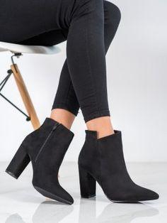 Štýlové členkové topánky do špičky Knee Boots, Booty, Ankle, Shoes, Products, Fashion, Moda, Swag, Zapatos