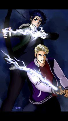 Grace siblings using lightning as   weapons