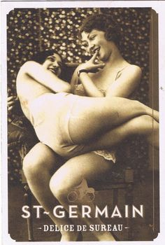 Vintage photographs of beautiful women I found at Zazzle Early French postcard Vintage Naughty French Pin Up Girl Photograp. Vintage Lesbian, Lesbian Love, Vintage Lingerie, Vintage Girls, Lesbian Pride, Vintage Photographs, Vintage Images, Retro Vintage, 1920s Advertisements