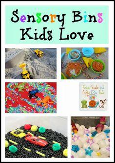 Sensory Bins Kids Love