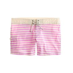 Stripe board shorts...I can see living in these aaaaalllll summer long.