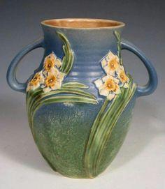 Roseville Pottery - Experimental - Jonquil -  #AAPA
