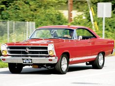 1966 Ford Fairlane Gt Front View