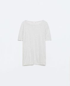 SHORT SLEEVE T-SHIRT from Zara