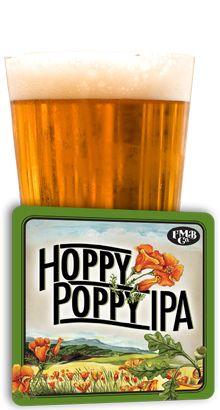 Figueroa Mountain Brewing Co. (Buellton, CA) Hoppy Poppy IPA (6.5% ABV) A nice, light and refreshing Cali-style IPA.