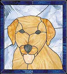 easy stained glass patterns | Dog Free Pattern - Alpine Stained Glass and Door Stained Glass Quilt, Stained Glass Panels, Stained Glass Projects, Stained Glass Patterns, Mosaic Glass, Glass Art, Dog Crafts, Glass Design, Craft Ideas
