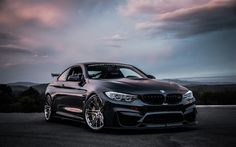BMW M4 Coupe, GBMW, Black M4, Tuning BMW, F82, German cars, BMW