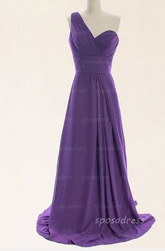 purple prom dress, one shoulder prom dresses, chiffon prom dress, long prom dresses, evening dress prom,. affordable prom dress, modest prom dresses,