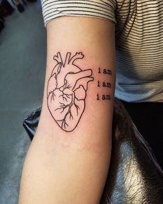 40 Trending Anatomical Heart Tattoo Designs - For Men & Women Check more at http://tattoo-journal.com/35-sensitive-anatomical-heart-tattoo-designs/