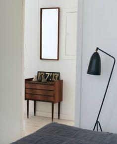 Wood drawer pull design - Scandinavian Retreat