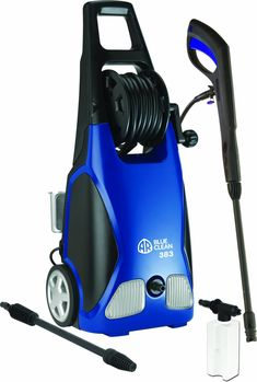 Gifts for Men ~ My husband loves his pressure washer!  He's always complaining that the local car washes never do a good enough job.  He wants to wash his truck himself, buff his wheels all nice, spray out the bed…you know.  This AR Blue Clean is Amazon's best selling pressure washer, listed at a great price AND gets great reviews.