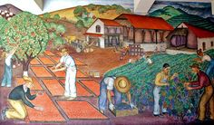 Coit Tower Mural: California Agricultural Industry by Gordon Longdon