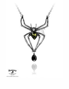 Emerald Venom Necklace :: VampireFreaks Store :: Gothic Clothing, Cyber-goth, punk, metal, alternative, rave, freak fashions