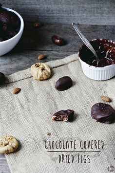 Chocolate Covered Dried Figs