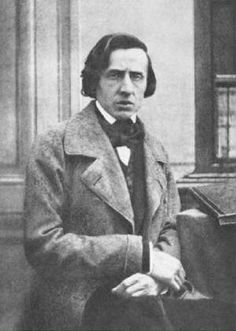 The only known photograph of Frédéric Chopin -- taken by Louis-Auguste Bisson in 1849, the last year of Chopin's life.