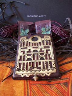 Rare BELLA TUAREG tribe STATEMENT necklace. Touareg. A talisman or Amulet worn for protection, good health & good luck.African,gift, Berber by Timbuktugallery on Etsy