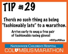 Tip #29: Get to your corral no later than 7:00 a.m. #30Tips30Days