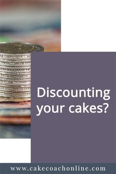 Do you find yourself discounting your cakes - unintentionally? Or do you hate asking for money for something you thoroughly enjoyed making. Read our blog to discover more. And why not save this to your own boards too?
