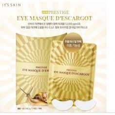 Its skin PRESTIGE Eye Mask Descargot 5 Sheets  Korea Imported >>> See this great product. #KoreaSkinCareProduct